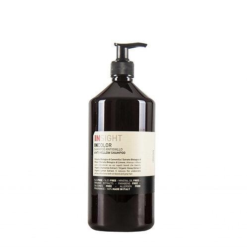 Insight anti yellow shampoo 400 ml