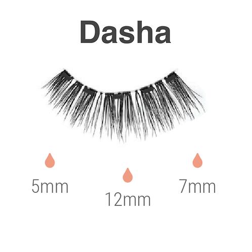 Magnetic lashes  - dasha
