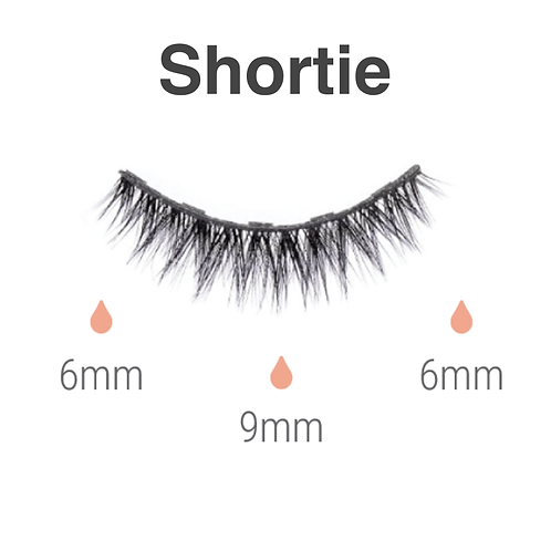 Magnetic lashes - shortie