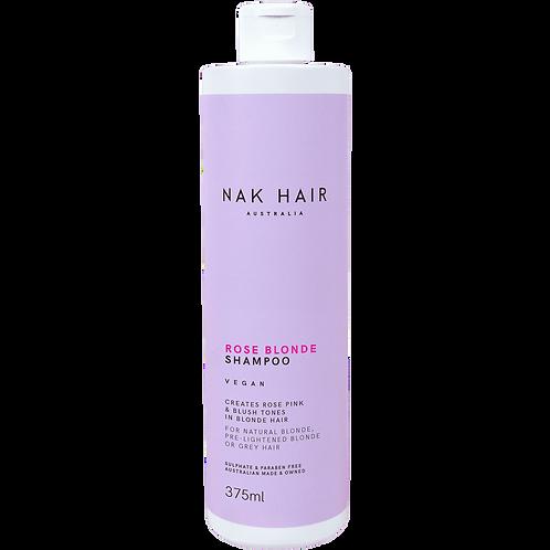 Rose blonde shampoo