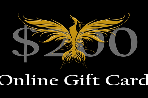 $200 Online Gift Card