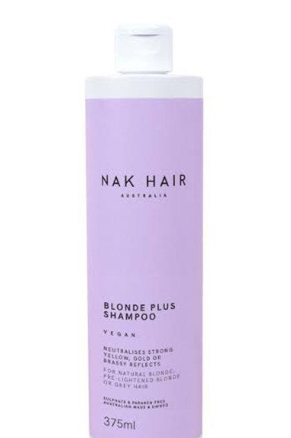 Blonde plus shampo