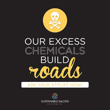 our excess chemicals build roads