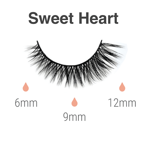 Magnetic lashes  - sweet heart