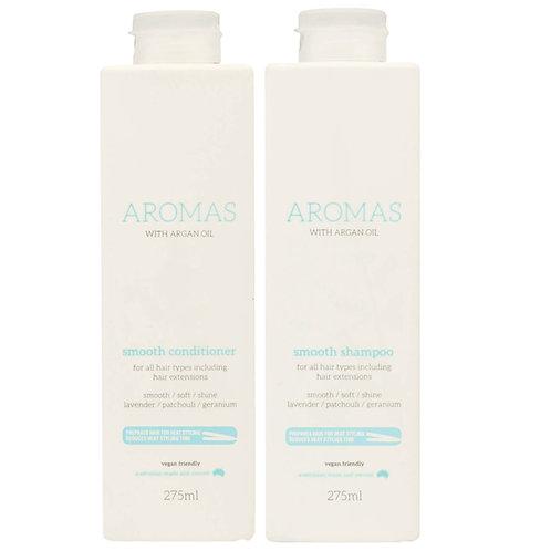 Aromas smooth shampoo