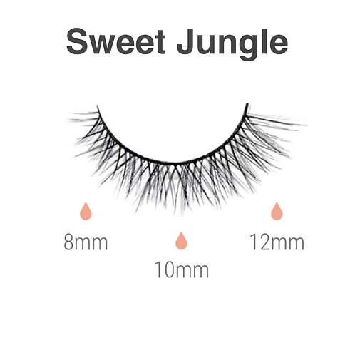 Magnetic lashes  - sweet jungle