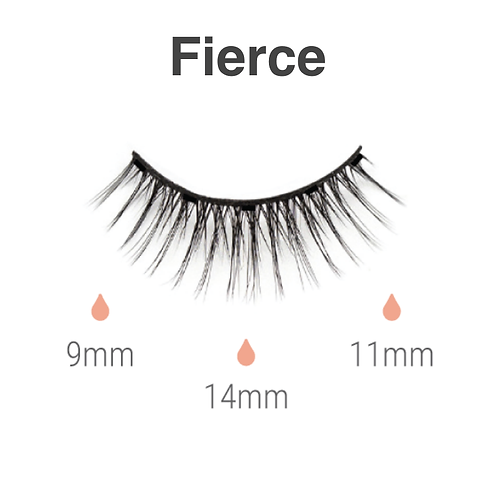 Magnetic lashes  - Fierce