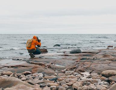 Fotograf am Wasser
