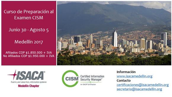 Curso CISM Medellin