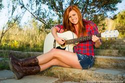 guitar photo smiling