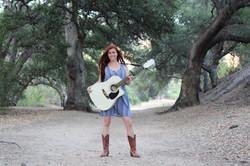 Standing guitar photo