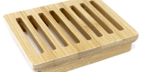 Hemu Wood Soap Dish