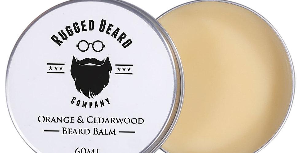 Orange and Cedarwood Beard Balm