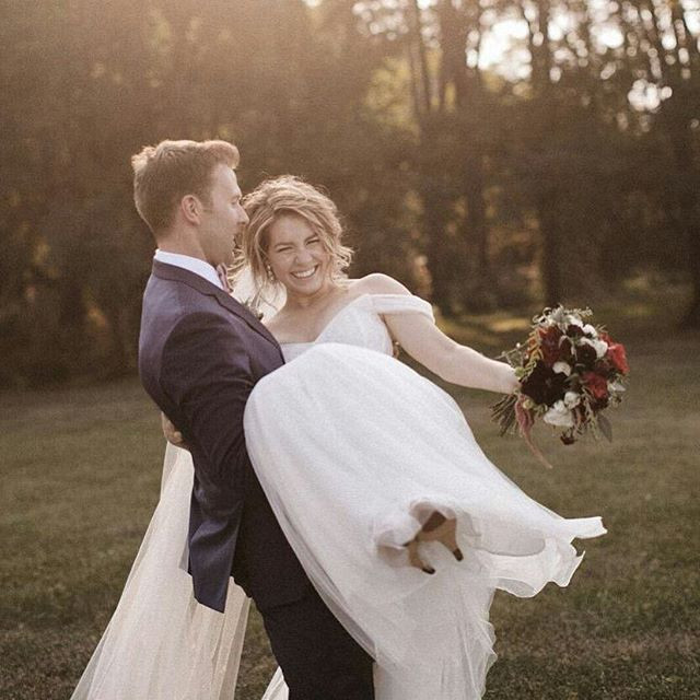 This was such a gorgeous wedding, from t