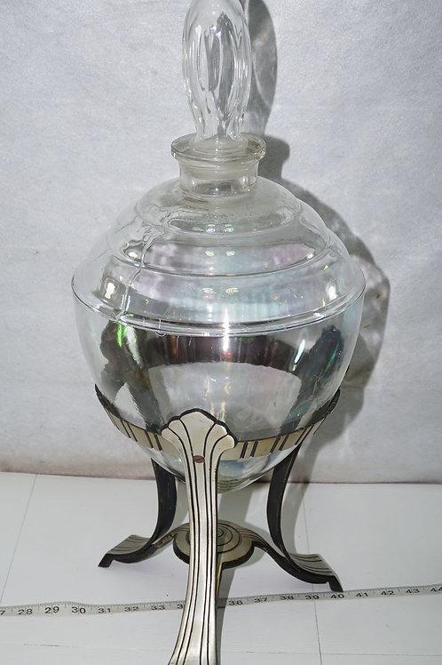 1930s Apothecary Jar Art Deco Style