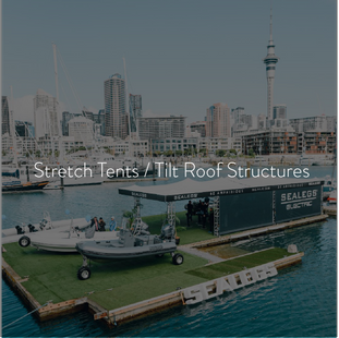Stretch Tents / Tilt Roof Structures