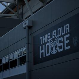 Vodafone Warriors / Stadium Rebrand