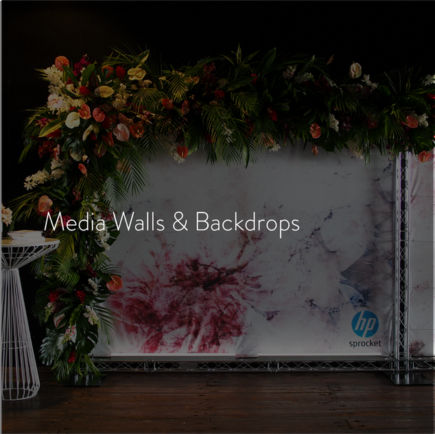 Media Walls & Backdrops