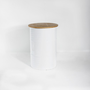Barrel / White
