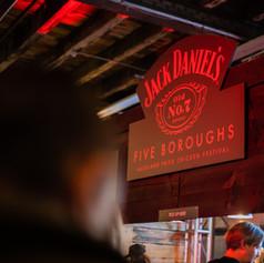 Jack Daniel's X Five Boroughs / Fried Chicken Festival Popup