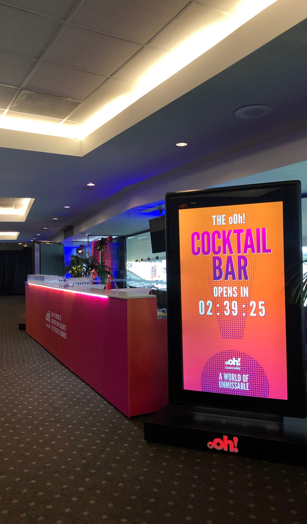 oOH! Media Cocktail Bar
