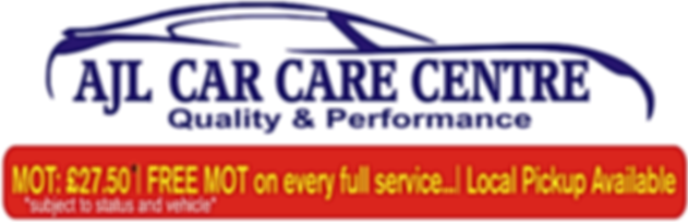 AJL Car Care Centre,MOT £27.50,Free MOT on every full service, Local pickup Available,subject to status and vehicle