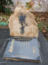 Stéle Mémorial Heiho Niten Ichi Ryu