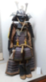 Armure Samouraî musée Miyamoto Musashi à Ōhara-Cho