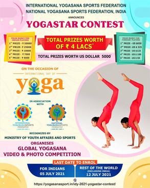 Global Yogasana Video Contest - Eligibility Criteria, Price Money, How to Apply
