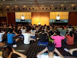 Yoga at Amway