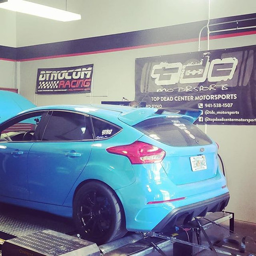 We got the Focus RS up on the Dyno today