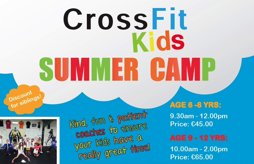 CrossFit Kids Summer Camps