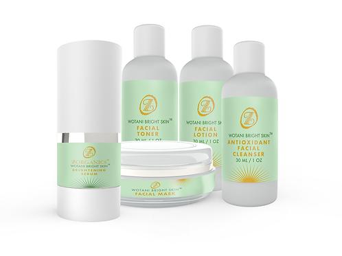 Wotani™ Bright Skin Facial  Kit