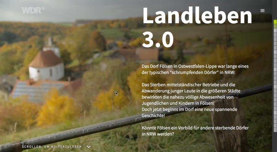 Landleben 3.0 - Neuanfang für Fölsen