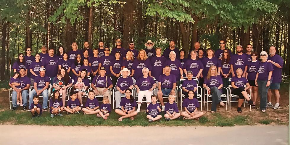 BURKS FAMILY REUNION JUNE 2021