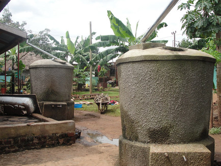 Water collection at kin
