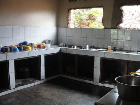 Kitchen area at Kin