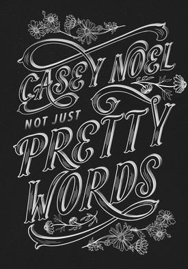 Casey Noel Hand Lettered Design