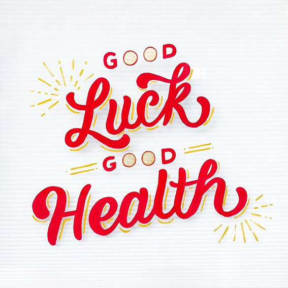 Good-Luck-Good-Health-Window-Mural