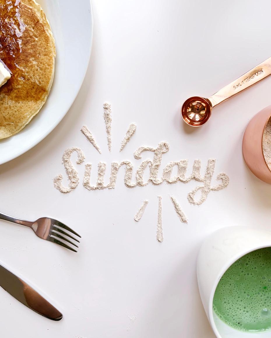 Sunday Morning Pancakes