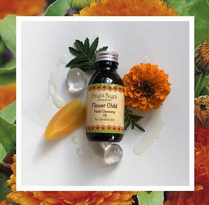 Flower Child Facial Cleansing Oil -For Sensitive Skin
