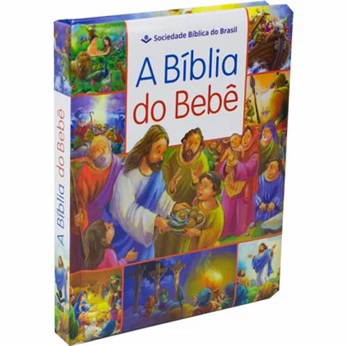 A Bíblia Do Bebê | Letra Normal | TNL | Capa Dura Ilustrada Azul