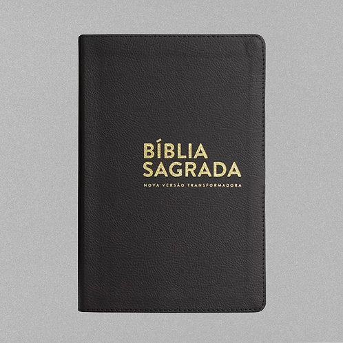 Bíblia Sagrada | NVT Letra Normal | Preta Luxo