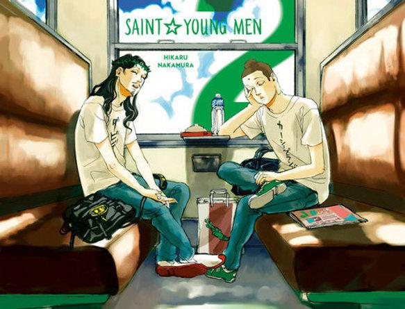Saint Young Men Omnibus 2 (Vol. 3-4)