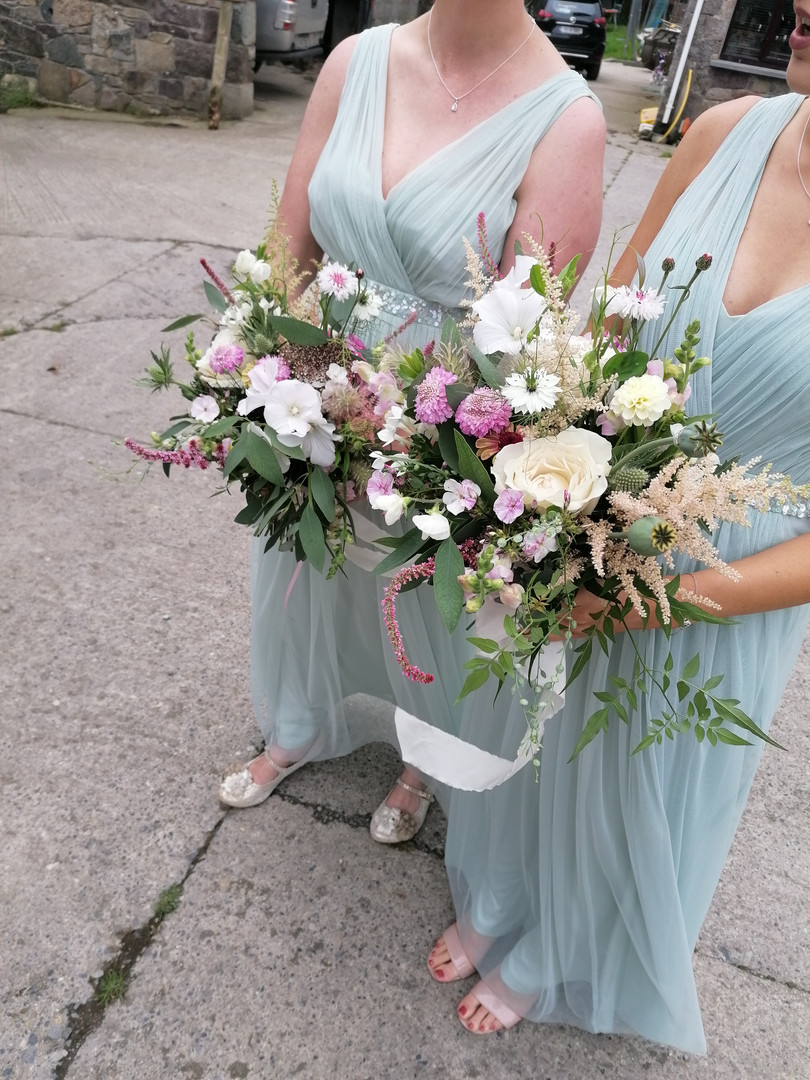 Rebecca's Bridesmaids Bouquets