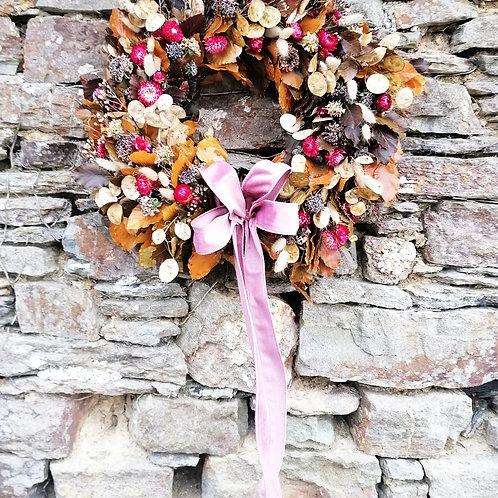 Autumn Border Wreath