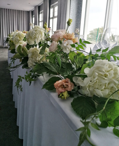 Top Table Dunmore House Hotel