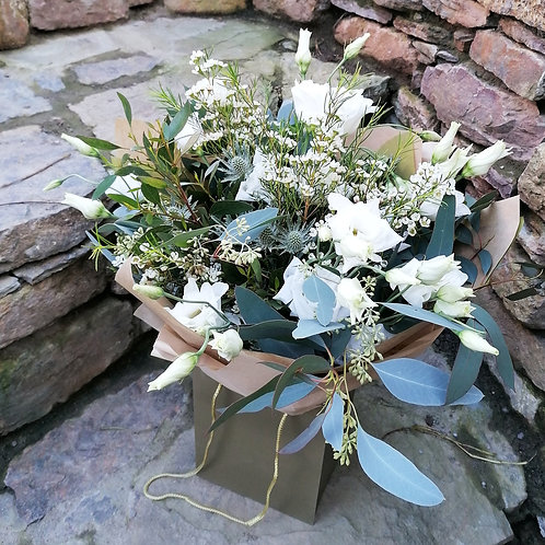 The White & Grey Bouquet
