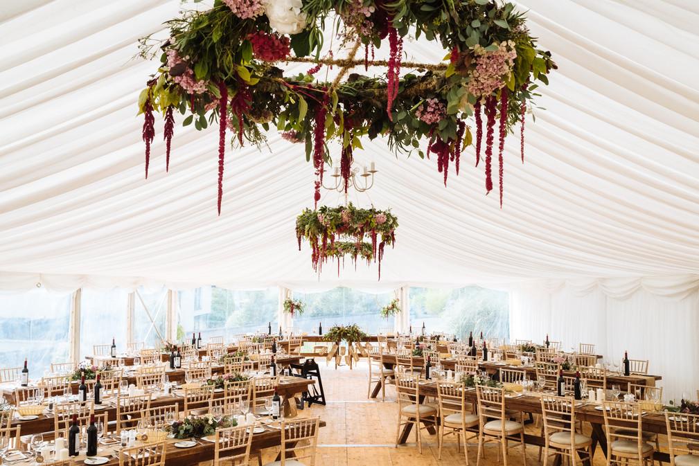Susi & Max's Marquee Wedding
