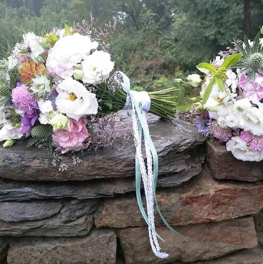 Marians Bridesmaids Bouquets